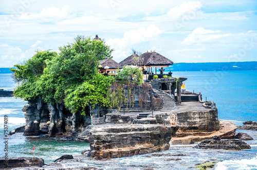 "Tanah Lot means ""Land Sea"" in Balinese language Located in Taban"