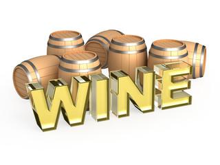 White wine cask