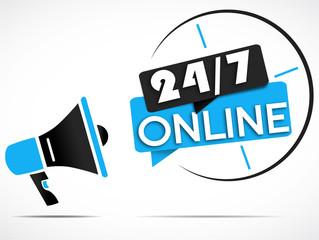 megaphone : 7j/7 24h/24 online