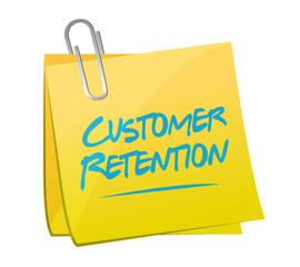 customer retention memo post