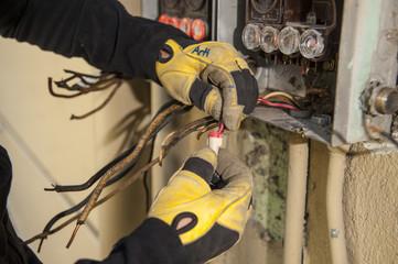 Repairing Electrical Panel