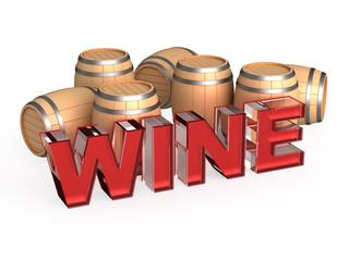 Red wine cask