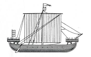 English warship 1284