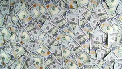 Dolly: Lot of american hundred dollar bills