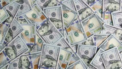 Dolly: $100 american dollar bills background