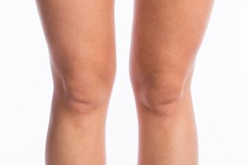 Knie einer Frau