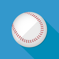 Baseball icon great for any use. Vector EPS10.