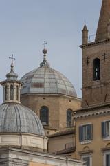 Cupole Basilica santa Maria del Popolo - Roma