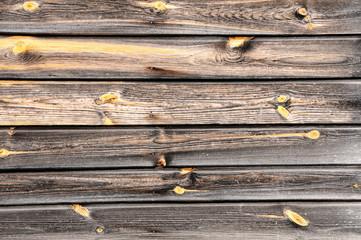 Ścianka z drewna