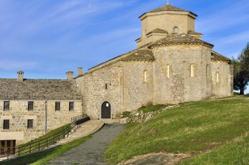 Shrine of San Miguel de Aralar, Navarre (Spain)