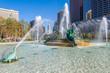 Leinwanddruck Bild - Swann Memorial Fountain, Philadelphia