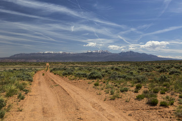 Back Road to Moab Utah