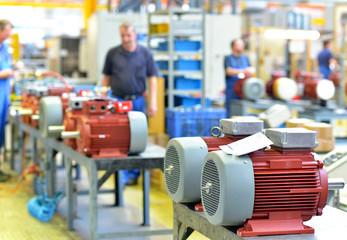 Maschinenbau - Elektromotorenfertigung / Engineering