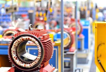 Maschinenbau von Elektromotoren / Engineering