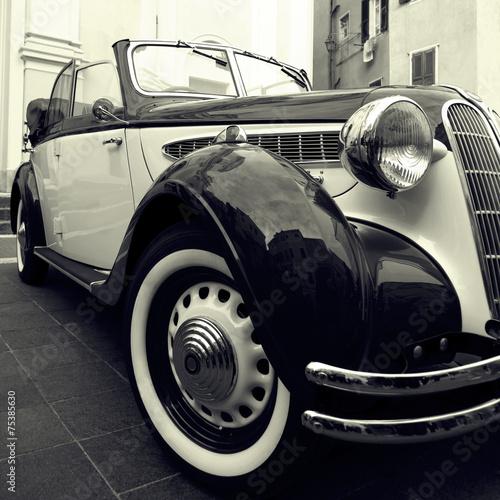 Classic car плакат