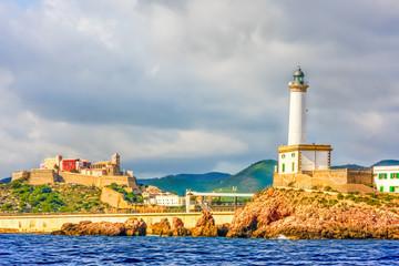 Approaching Ibiza Town