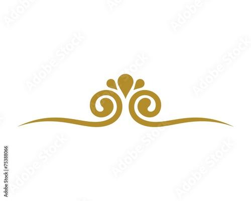 ornament logo - 75388066