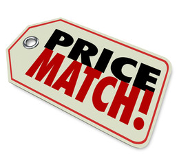 Price Match Low Cost Sale Guarantee Store Selling Merchandise Be