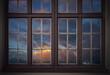 Leinwandbild Motiv Vintage windows