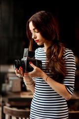 Photographer working