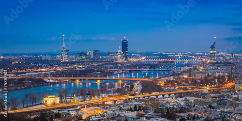 Fotobehang Wenen View of Vienna #3