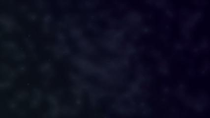 Mystery gray fog on the dark blue background