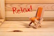canvas print picture - Relax
