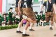 Leinwanddruck Bild - Austria folk dance