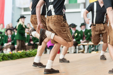 Austria folk dance