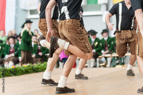 Canvas Dans Austria folk dance
