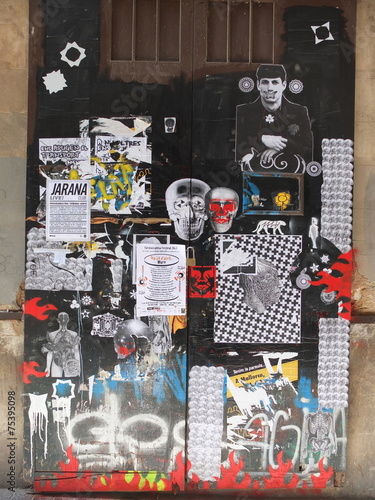 fototapeta na ścianę Streetart Hiszpania