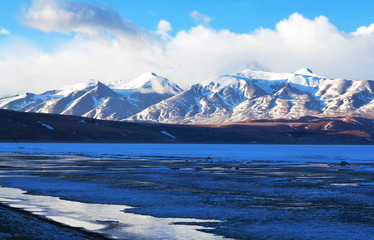 Rakshas Tal Lake in Western Tibet