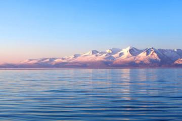 Holy Manasarovar Lake in Ngari, Western Tibet