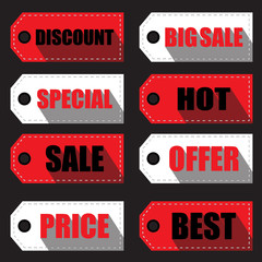 price tag  labels and stickers