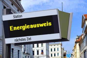 Anzeigetafel 7 - Energieausweis
