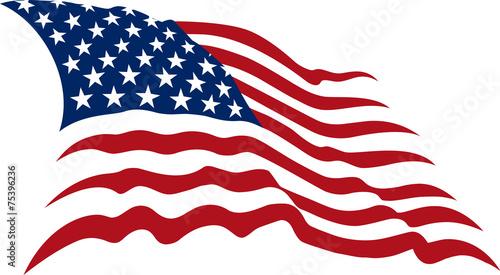 american flag - 75396236
