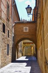Vista urbana de Plasencia, Cáceres, Extremadura