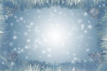 Eiskristalle Hintergrund hell