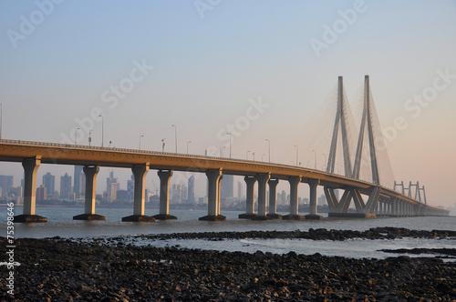 Fotobehang India Mumbai Sealink