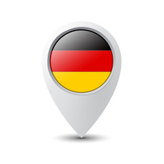 Flag Pin Germany