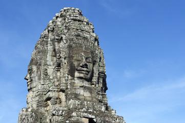 Angkor Wat Temple of Bayon Stone Face
