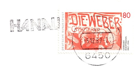 Old german stamp
