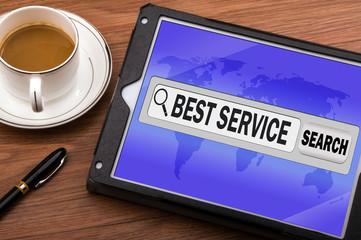 best service in search bar