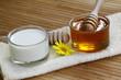 canvas print picture - Milch und Honig