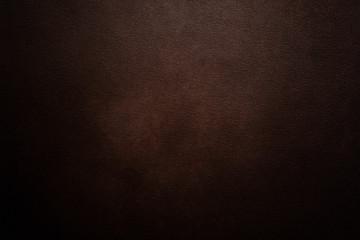 Luxury dark brown leather background