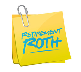 retirement roth memo post illustration
