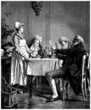 Restaurant Scene - 19th century