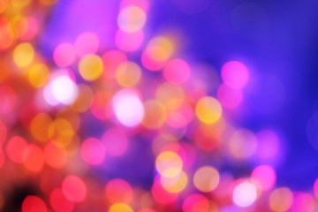 bokeh lights