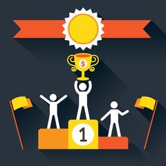 Champion, Success on Platform Award