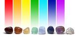 Chakra Healing Crystals Colour Chart